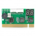 Double-Sided 2-Digit Display PCI Motherboard Analyzer/Diagnostic Test POST Card