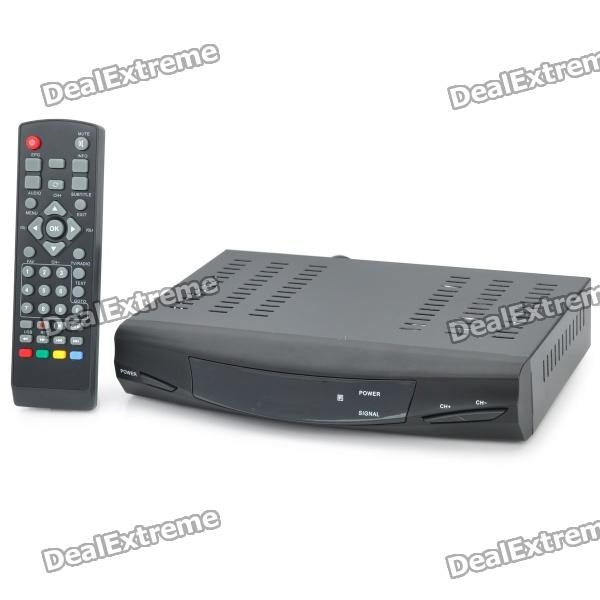 T8607 MPEG4 DVB-T High Definition Digital Terrestrial Receiver w/ Remote Controller