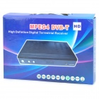 T8605 MPEG4 DVB-T High Definition Digital Terrestrial Receiver w/ Remote Controller - Black