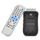 Scart DVB-T Digital Terrestrial Receiver + USB PVR with Remote Controller - Black