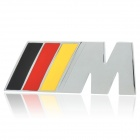 BMW Car Logo Refitting Sticker - Silver