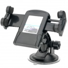 Universal Swivel Suction Cup Mount Holder for Cell Phone / MP4 Player + More - Black