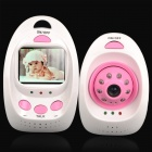 "2.4GHz Wireless 2.3"" LCD Digital Baby Monitor w/ 8-IR LED Night Vision"