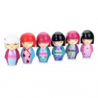 Cute Resin GOJO Doll Toy Set (85mm-Height / 6-Piece Pack)