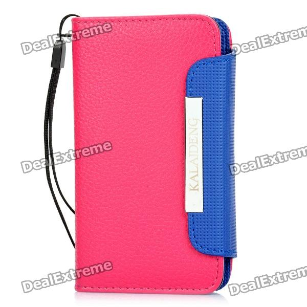 KALAIDENG Protective PU Leather Flip-Open Case for Samsung i9070 - Pink