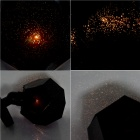 Starry Sky Celestial Body Yellow Light Projection Lamp for DIY