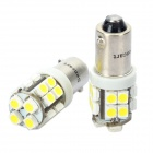 BA9S 100LM 6000K Cool White Light 20*3528 SMD LED Car Bulb (12V /2PCS)