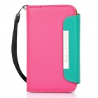KALAIDENG Protective PU Leather Flip-Open Case for iPhone 4/4S - Pink