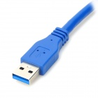 USB 3.0 Male to Male Extension Cable - Blue (100cm-Length)