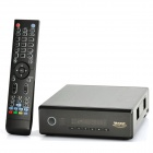 1080P Full HD Network Multi-Media Player w/ 2 x USB 2.0 / USB 3.0 / SD / HDMI / LAN - Black