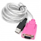 USB 2.0 Male to RS232 Serial Male Adapter Cable (150cm)