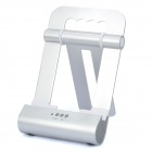 Foldable Metal Speaker Stand for iPad 2 - Silver