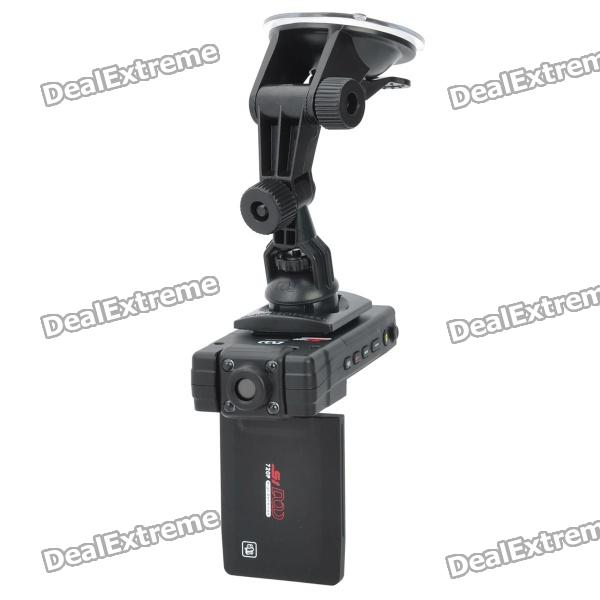 "2.5"" LCD HD 720P 5M Car DVR Camcorder with IR Night Camera/Wide Angle/AV OUT/SD"