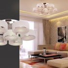 Chrome Finish Acrylic Chandelier with 7 Lighting (220-240V)
