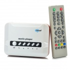 Mini Movie Media Player with YPbPr / AV / DC5V / USB / SD/MMC /Remote Controller