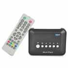 Mini Multi-Media Player w/ SD / USB / AV-Out / YPrPb - Black