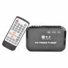 TENGYUAN TY-816 1080P Full HD Multi-Media Player w/ USB / SD / HDMI / VGA / AV / YPbPr - Black