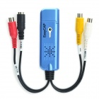 1-CH USB Audio / Video Capture Dongle - Blue + White