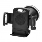 Car Swivel Suction Cup Mount Holder for Cellphone - Black