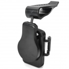 Car Sun Visor Mount Holder for Cellphone - Black (Width 6.8~11.5cm)