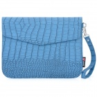 "Crocodile Grain Pattern Protective PU Leather Case for Samsung 7300 / 7310 & 8"" Tablet - Blue"