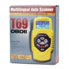 "2.7"" LCD OBD2/OBDII Auto Scanner Diagnostic Tool - Yellow"