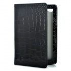 Protective PU Leather Case for Samsung Galaxy Tab P6800 / P6810 - Black
