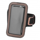 Trendy Sports Armband for iPhone 4 / 4S - Black + Orange