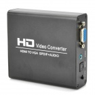 HDV-338 HDMI to VGA SPDIF + Audio HD Video Converter Box