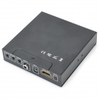 SCART + HDMI to HDMI Video Converter - Black