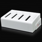 "ORICO 6648SUSJ3 USB 3.0 4-Bay 2.5""/3.5"" SATA HDD Docking Station - White"