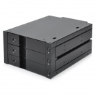 "Orico 6203SS 3-Bay 3.5"" SATA HDD Internal Enclosure - Black"