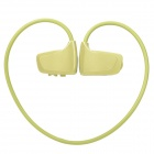 Sports Rechargeable MP3 Player Headset - Green (4GB)