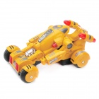 27MHz R/C Transformable Car Model Toy - Yellow