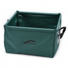 Outdoor Foldable Water Basin - Green (15-Litre)
