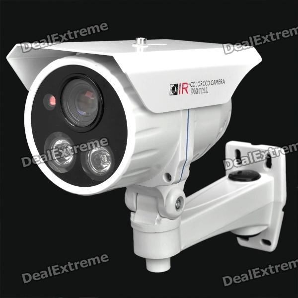 OMB 1.3MP CCD Surveillance Security Network Camera with IR light - White (DC 12V)