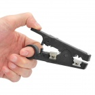 Professional Wire/Cable Cutter and Stripper Tool - Black