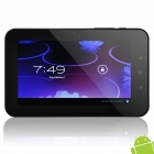 "7"" Capacitive Touch Screen Android 4.0 Tablet w/ Camera / WiFi / External 3G - Black + White (4GB)"