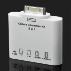 USB / TF / M2 / SD / MMC / MS / MSDUO Memory Card Reader - White