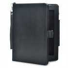 2-in-1 External 3.7V 4400mAh Emergency Battery w/ Protective PU Leather Case for Ipad/Ipad 2 (Black)