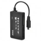 All-in-One Memory Card Reader - Black