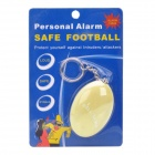 120dB Security Alarm Keychain - Yellow (1 x 12V 23A)