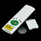 2.4GHz Wireless Presenter with 650nm Red Laser Pointer - White (1 x CR2025)
