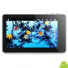 "7"" Resistive Screen Android 2.3 Tablet w/ WiFi / G-Sensor / TF- Black + Silver (Cortex A8 / 1.2GHz)"