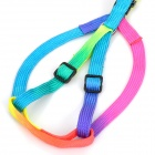 Ajustable multicolor Pet Strap correa del perro