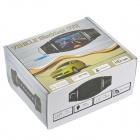 2.0MP CMOS Dual Lens Wide Angle Car DVR Camcorder w/ 4-IR Night Vision / TF (2.7&quot; LCD)