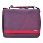 "Genuine AHA G4 Young Fashion Shoulder Bag for Ipad / 15.6"" Laptop Notebook - Purple"