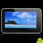 "7 ""kapazitiven Touchscreen Android Tablet 4,0 W / WiFi / HDMI / TF - Black + White (A10 / 1,5 GHz)"