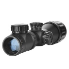 2 ~ 6 * 32 Zooming Reflex Laser Rifle Scope Visão com Gun Mount (Red + Green Laser Configurável)