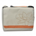 "Genuine AHA G4 Young Fashion Shoulder Bag for Ipad / 15.6"" Laptop Notebook - Beige"